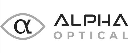 Alpha Optical & Symbol trademark